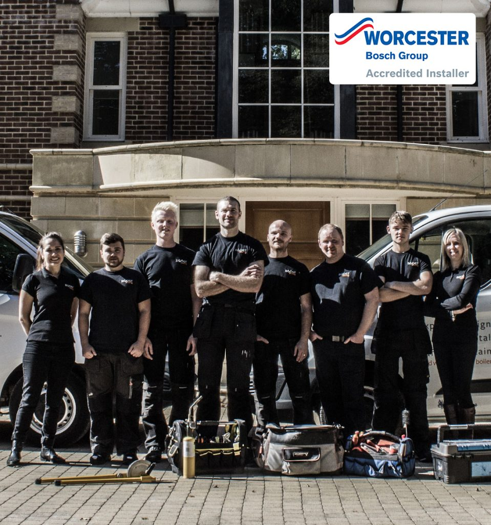 Worcester Accredited Gas Boiler Installers Winchester